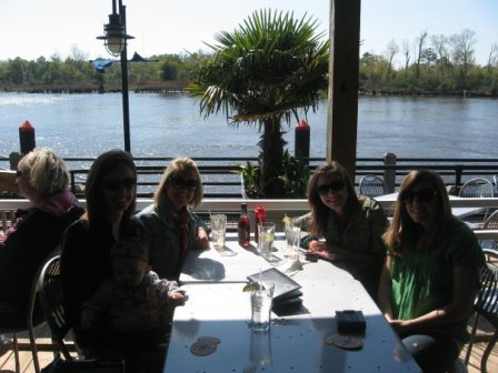 Lunch on the Cape Fear